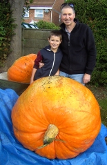 the childrens prize winning pumpkin 2014